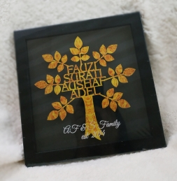 Personalized Family Tree Frame - Classic