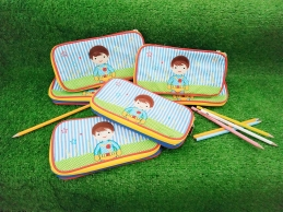 Personalized Embroidery Pencil Case