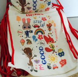 Personalized Drawstring Backpack/ Tote Bag (Goodie Bag)