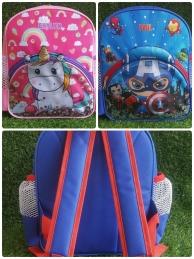 A81  - Set Of 24 pcs 3D Backpack