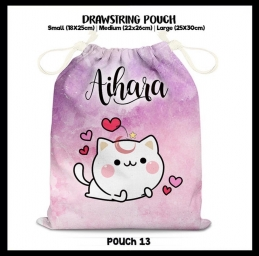 Multipurpose drawstring pouch 1