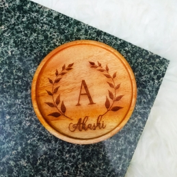Personalized Wooden Coaster