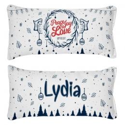 Personalized Hugable Pillow - Christmas Edition