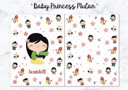Personalized Premium Fleece & Minky Blanket - Baby Princess