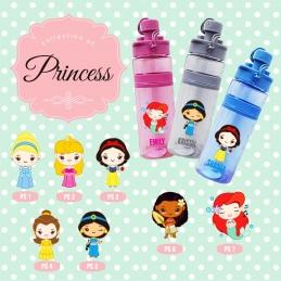 Personalized Sport Bottle - princess edition