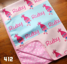 Personalized Baby Scuba Blanket